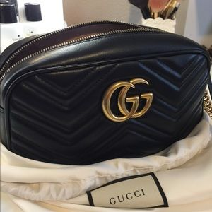 Gucci GG marmont matelesse shoulder bag